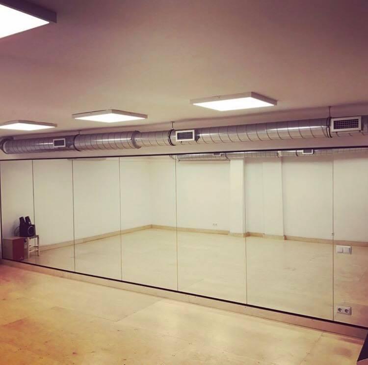 Alquiler sala de ensayo / estudio acondicionada para baile flamenco