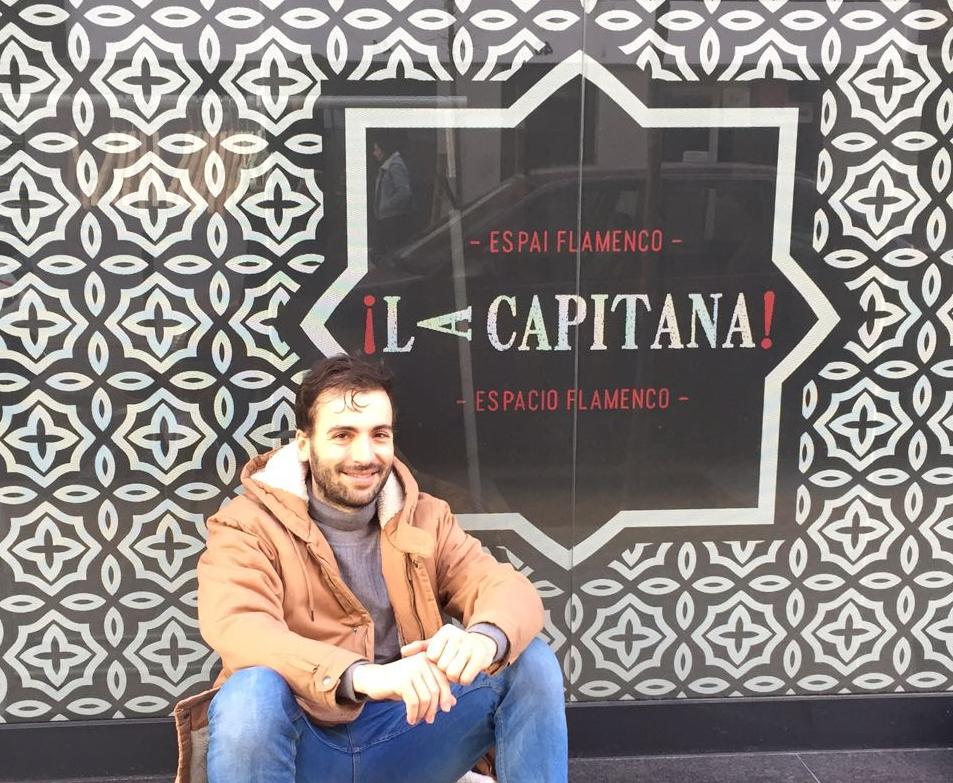 El bailaor flamenco Marco Flores en La Capitana