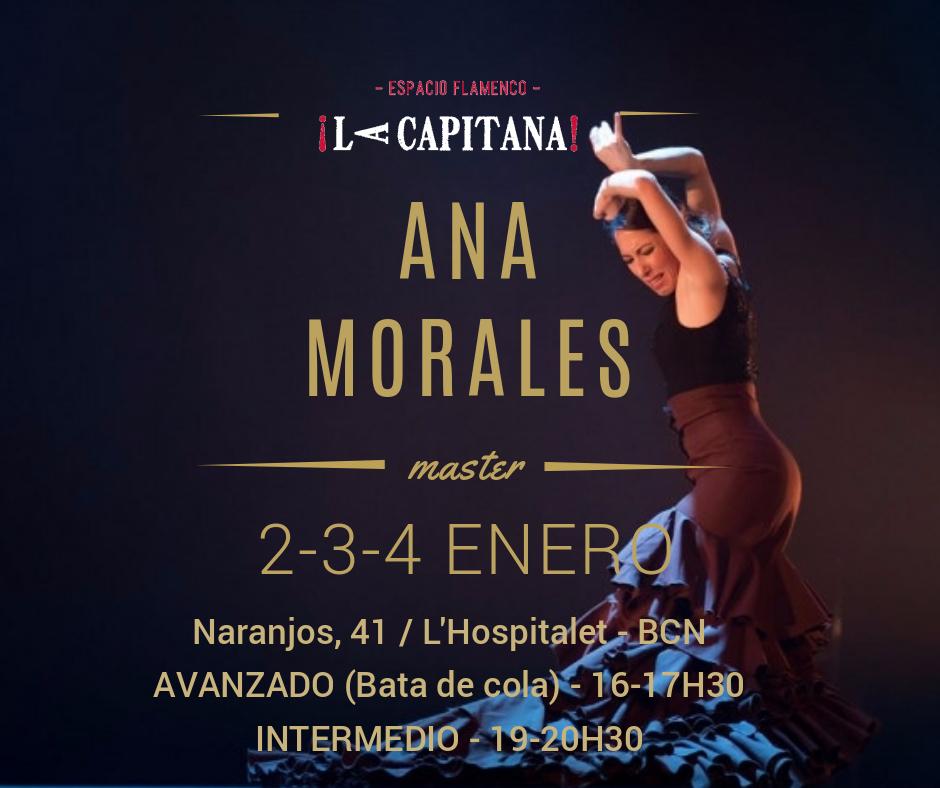 Curso flamenco Ana Morales
