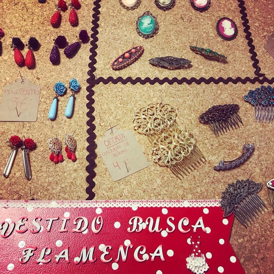 Mercadillo de intercambio y segunda mano de trajes de flamenca