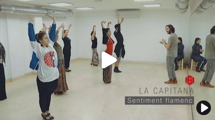 Clases de baile flamenco para profesionales