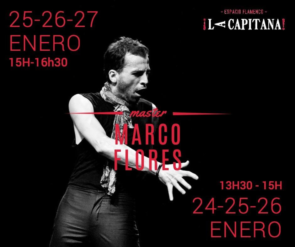 Curso del bailaor flamenco Marco Flores en La Capitana