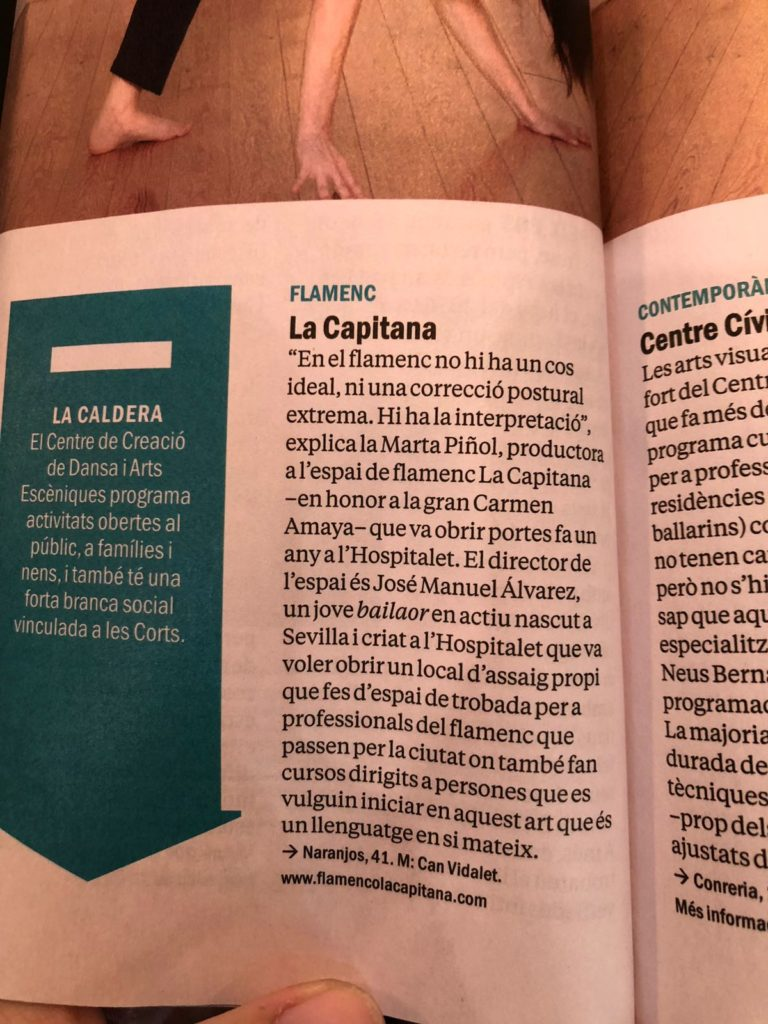 la capitana en time out barcelona